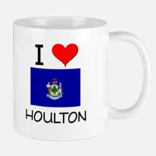 I Love Houlton Maine Mugs