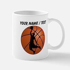 Custom Basketball Dunk Silhouette Mugs
