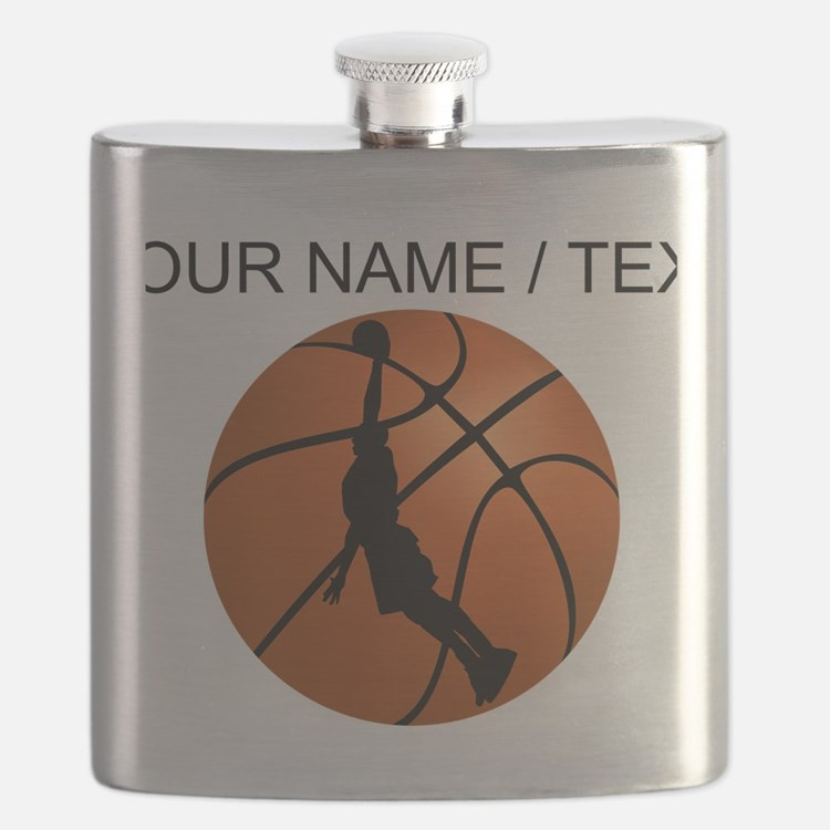 Custom Basketball Dunk Silhouette Flask