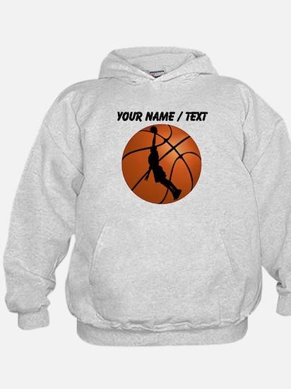Custom Basketball Dunk Silhouette Hoody