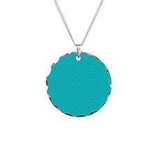 Blue Damask Necklace