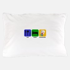 Eat Sleep Blackjack Pillow Case