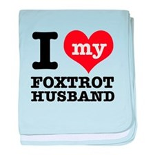 Awesome Foxtrotting designs baby blanket