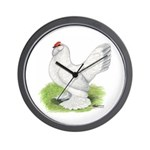 Self Blue Hen Wall Clock