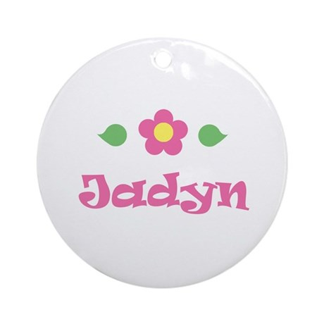 """Pink Daisy - """"Jadyn"""" Ornament (Round)"""
