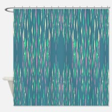 Abstract Llines Shower Curtain