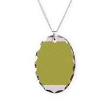 Green Damask Necklace