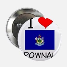 "I Love Pownal Maine 2.25"" Button"