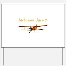 Antonov An-2 Yard Sign