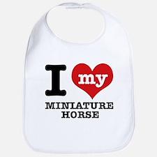 I love my Miniature Horse Bib