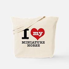 I love my Miniature Horse Tote Bag