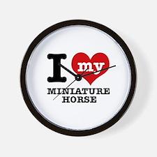 I love my Miniature Horse Wall Clock