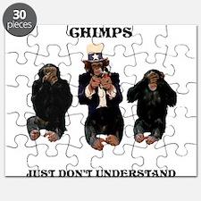 chimps just dont understand Puzzle