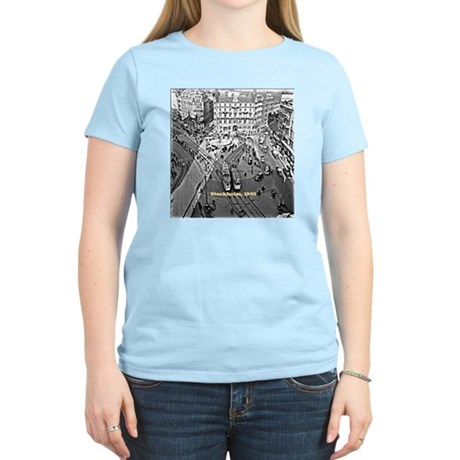 Stockholm 1949, vintage phot Women's Light T-Shirt