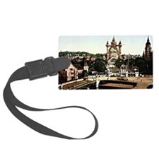 Stockholm, Sweden cityscape Luggage Tag