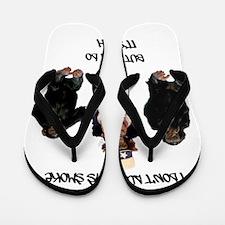 I DONT ALWAYS SMOKE Flip Flops
