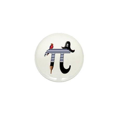 Pi Pirate Mini Button (100 pack)