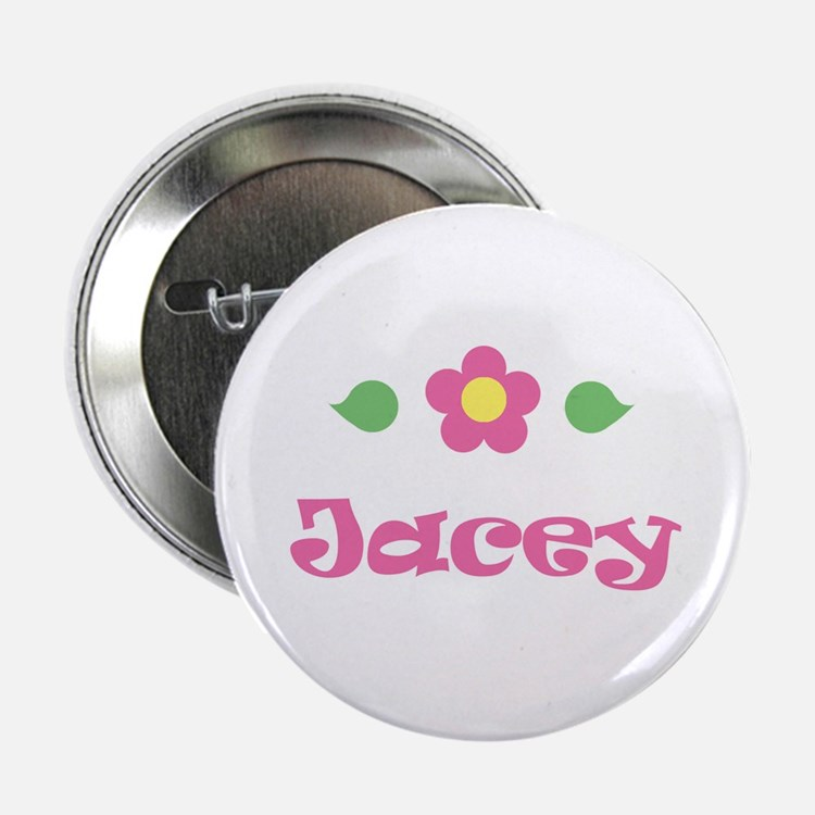 """Pink Daisy - """"Jacey"""" Button"""