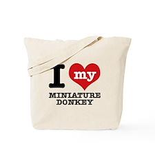 I love my Miniature Donkey Tote Bag