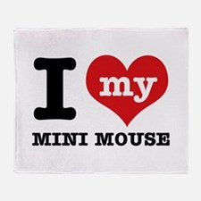 I love my Mini Mouse Throw Blanket