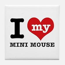 I love my Mini Mouse Tile Coaster