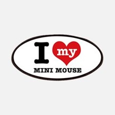 I love my Mini Mouse Patches