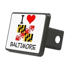 I Love Baltimore Maryland Hitch Cover