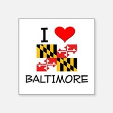 I Love Baltimore Maryland Sticker