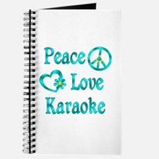 Peace Love Karaoke Journal