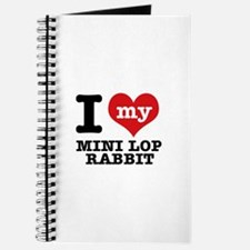 I love my Mini Lop Rabbit Journal
