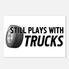 Still Plays With Trucks Postcards (Package of 8)
