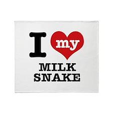 I love my Milk Snake Throw Blanket
