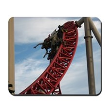 Cedar Point Maverick Roller Coaster Mousepad