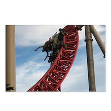 Cedar Point Maverick Roll Postcards (Package of 8)