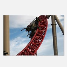 Cedar Point Maverick Roll Postcards (Package of 8)