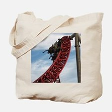 Cedar Point Maverick Roller Coaster Tote Bag