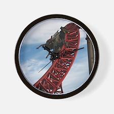 Cedar Point Maverick Roller Coaster Wall Clock