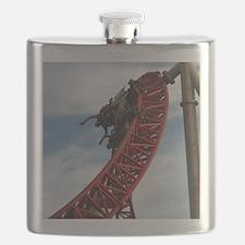 Cedar Point Maverick Roller Coaster Flask