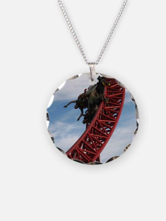 Cedar Point Maverick Roller  Necklace
