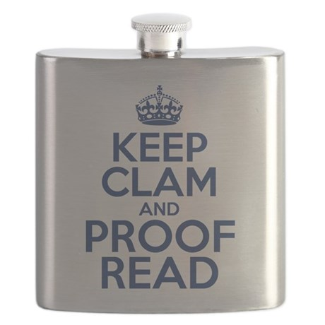 Keep Clam and Proof Read Flask