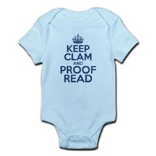 Keep Clam and Proof Read Body Suit