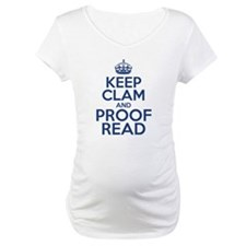 Keep Clam and Proof Read Shirt