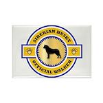 Siberian Husky Rectangle Magnet (100 pack)
