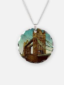 vintage London Bridge  Necklace