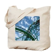 Cedar Point Raptor Roller Coaster Tote Bag