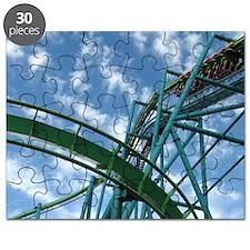 Cedar Point Raptor Roller Coaster Puzzle