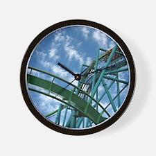 Cedar Point Raptor Roller Coaster Wall Clock