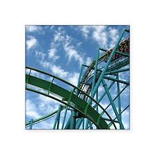 "Cedar Point Raptor Roller C Square Sticker 3"" x 3"""
