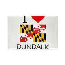 I Love Dundalk Maryland Magnets
