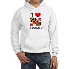 I Love Dundalk Maryland Hoodie